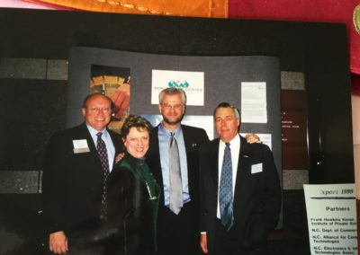 Left to Right: Jim Nichols, Pamela Davison, Larry Williams and Russ Shawchuk