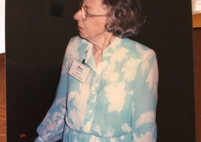 Mary Bruce (5/8/1997) (Widow of LC Bruce)