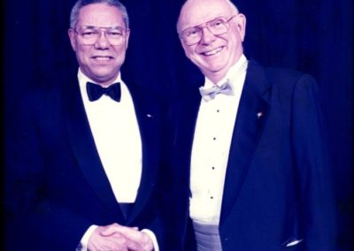 General Colin Powell and Wayne Cooper